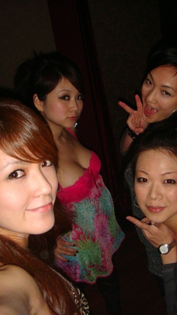 街コン常連組のほろ酔い自画撮り写メ (4)