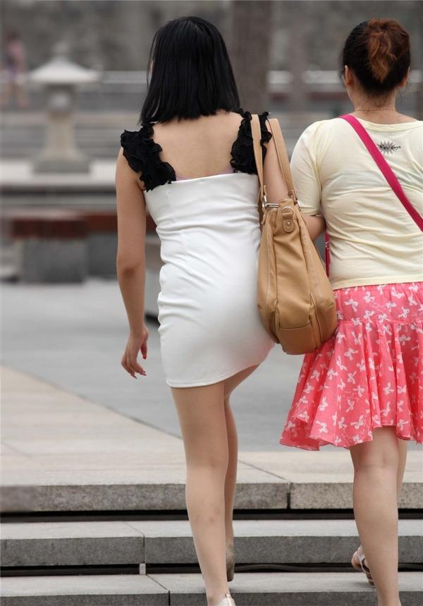 街撮りミニスカ&ショートパンツエロ画像 (37)