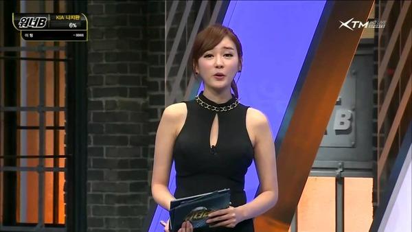 韓国の激エロ女子アナウンサー (35)