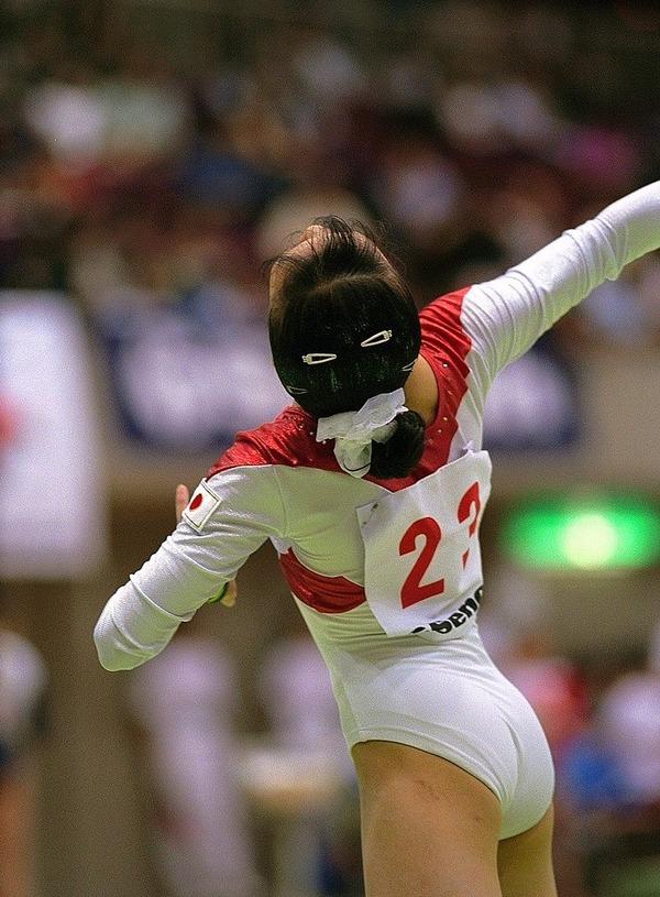 女子体操選手の食い込みエロ画像 (5)