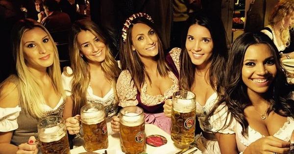 ドイツのビール祭りは巨乳ちゃんを盗撮し放題!!