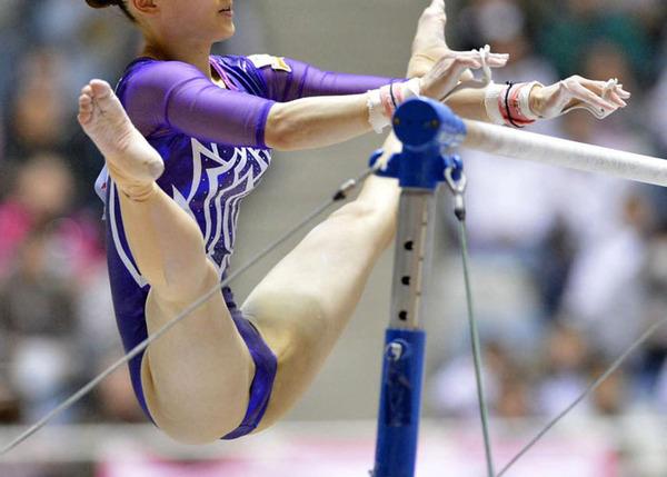 女子体操選手の食い込みエロ画像 (11)