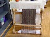 裂き織りの機械