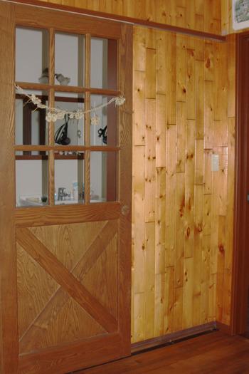 木製ドアー