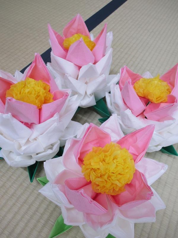 8月蓮の花