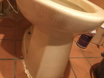便器の水垢1