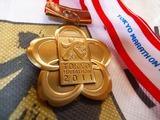 完走メダル