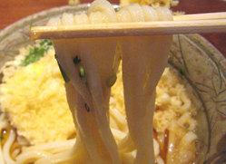 うどん棒の麺