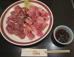 焼肉盛合せ(カルビ・ロース・ハラミ・バラ) 3,000円