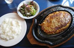 西洋肉料理 岡のランチハンバーグ大