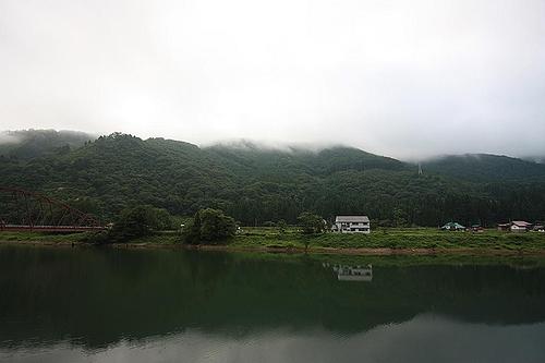 鶴亀荘からの眺め
