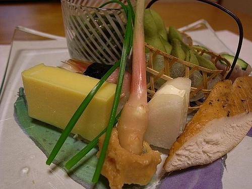 鶴亀荘での夕食