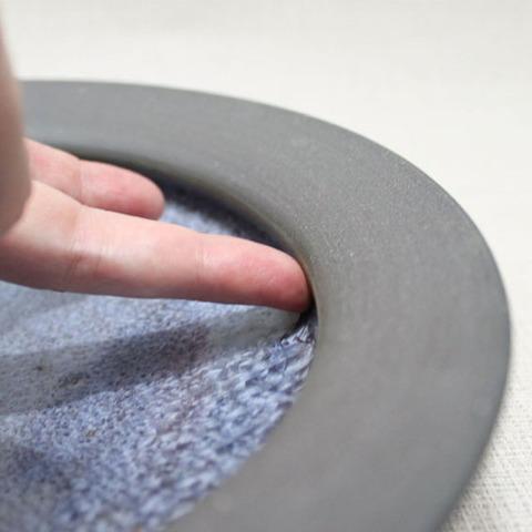 結晶釉シチュー皿