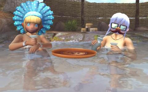 おやつとテラスの温泉デトックス効果