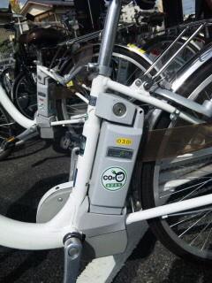 自転車バッテリー