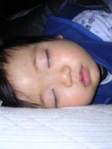 寛三の寝顔