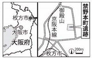 50716 禁野弾薬庫地図