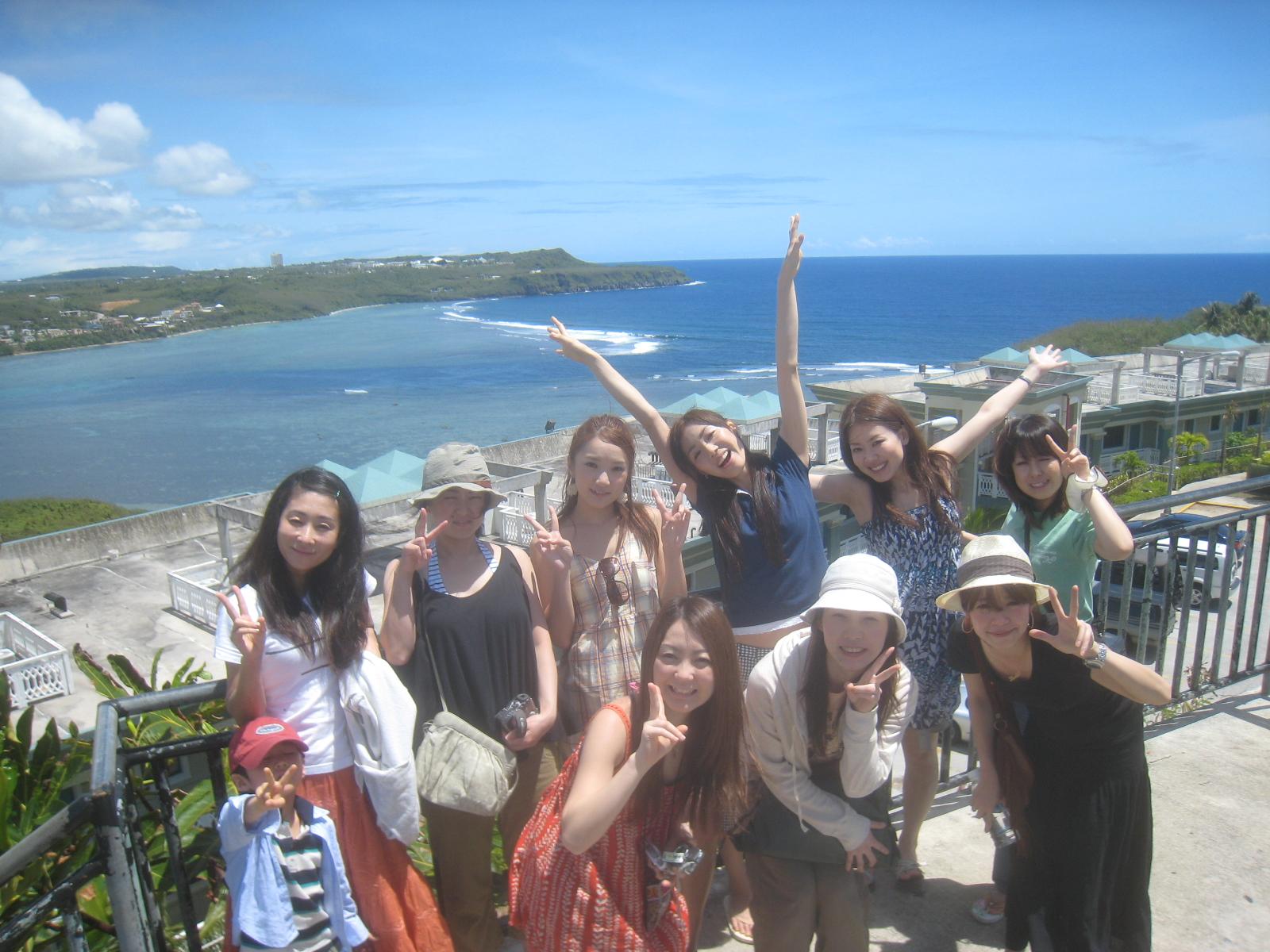 しいなやすまさのスマイル日記  グアム旅行  GUAMグアム旅行で