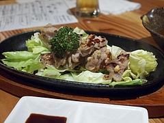 阿波尾鶏の塩焼き