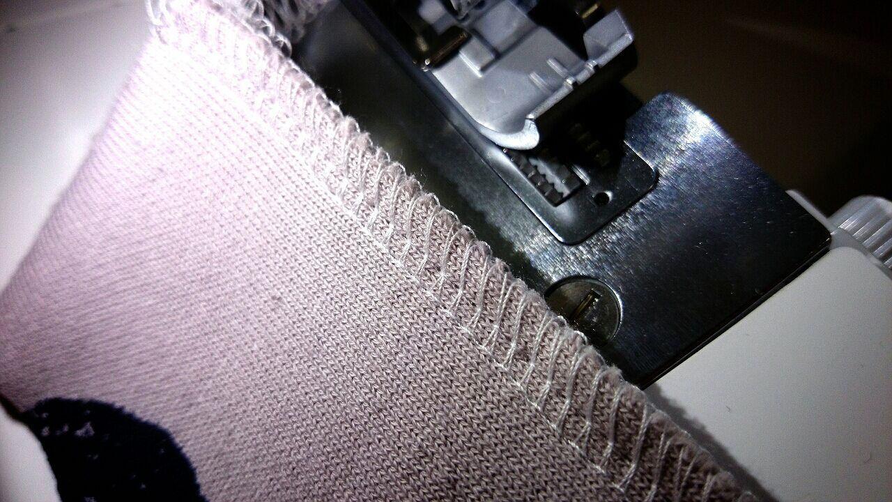 生地 縫い 方 ニット