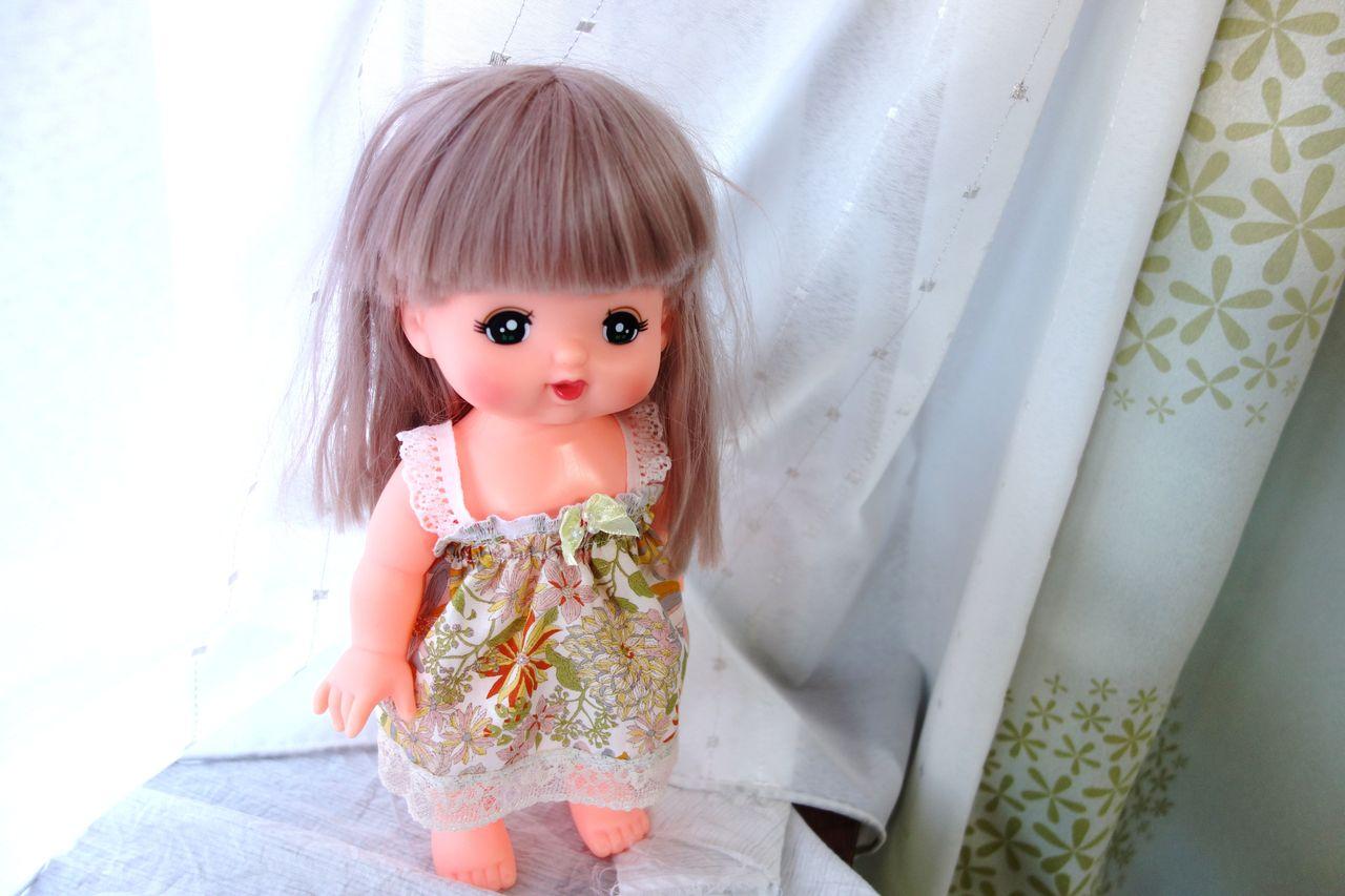 ハギレ活用!お人形メルちゃんのお洋服を作ってみました♪  pui