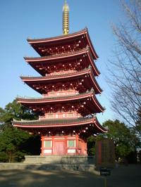 蓮華院五重塔