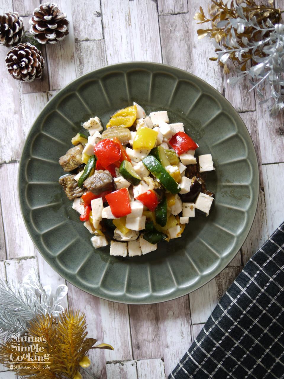 サラダ レシピ コンビニ チキン
