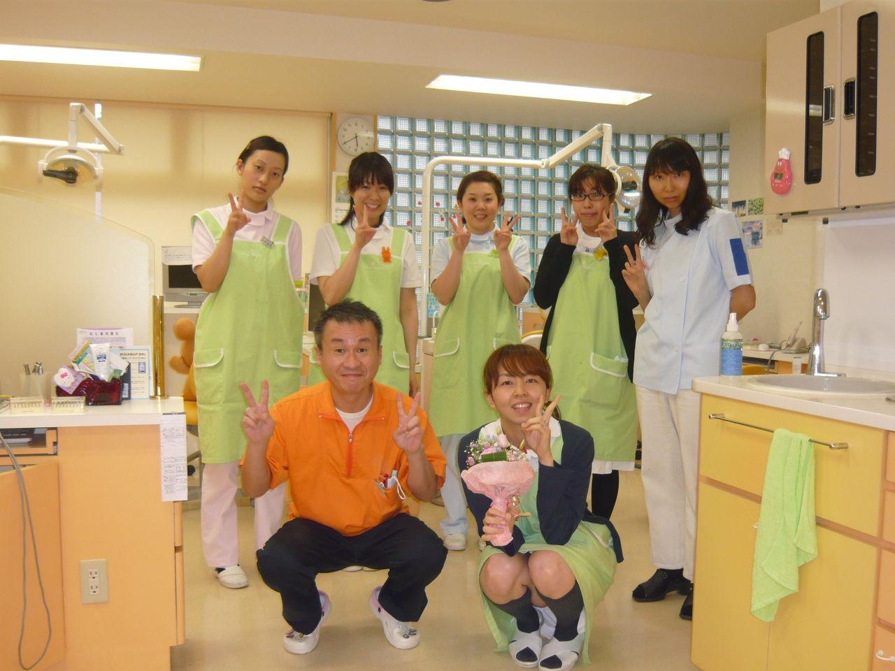 大田区蒲田の島田歯科 スタッフ誕生日イベント 小児歯科 矯正歯科