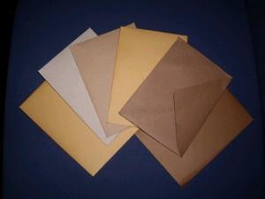 手作り封筒達