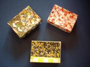小さな和の小箱たち