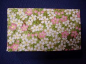桜柄友禅紙箱