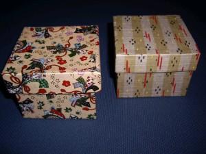 お香の箱で和の小箱