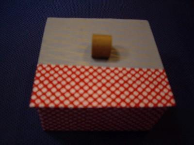 鹿の子模様 小箱