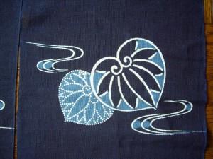藍さん 東京市 型紙