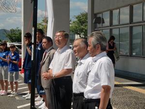 式典には松浦松江市長をはじめ ...