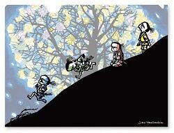 「モチモチの木」クリアファイル