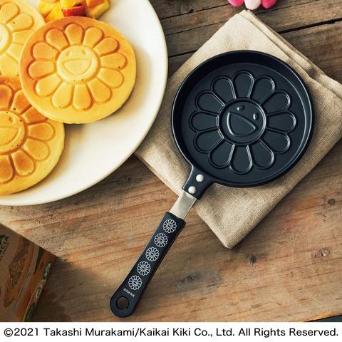 村上 隆「お花」パンケーキパン