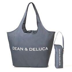 DEAN & DELUCA レジかご買物バッグ+ストラップ付き保冷ボトルケース