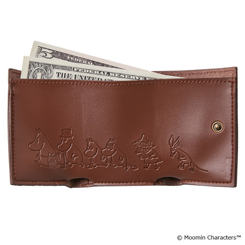 本革三つ折りミニ財布5