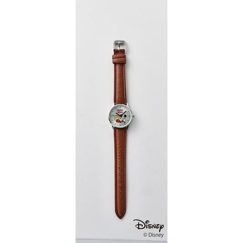 ミッキーマウス 腕時計、替えベルト2本(ナイロンベルト、レザー調)3