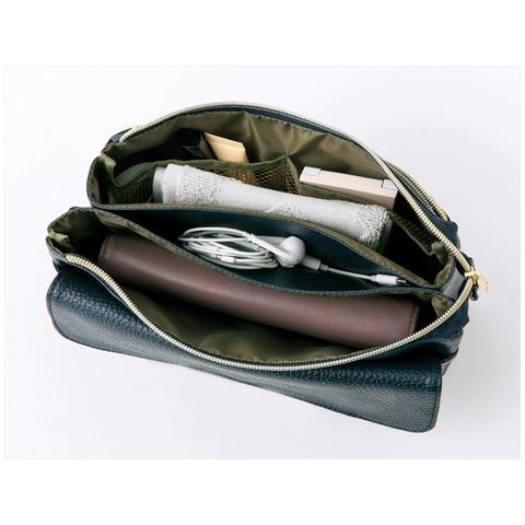 ズッカ特製 スマホも長財布も入る上質ポシェット4