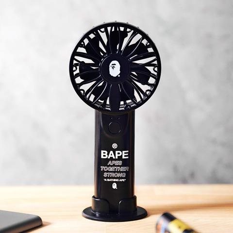 A BATHING APE 2WAYハンディ扇風機