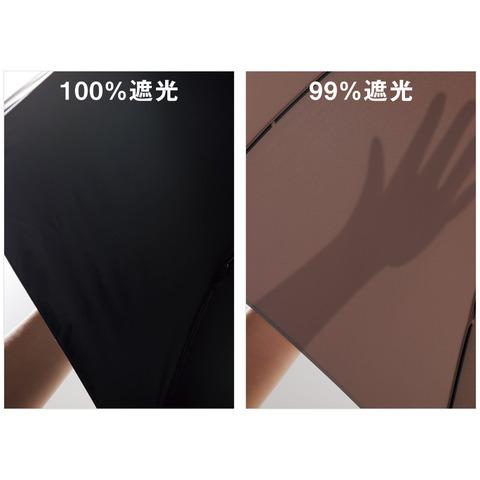 100%遮光日傘