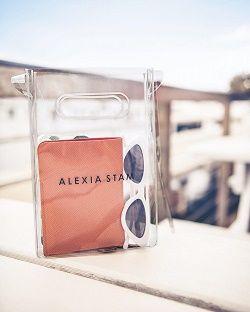 ALEXIA STAM PVCショルダーバッグ