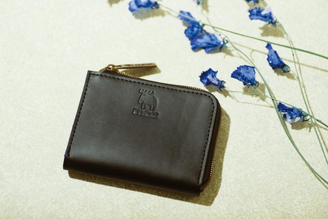 牛革コンパクト財布