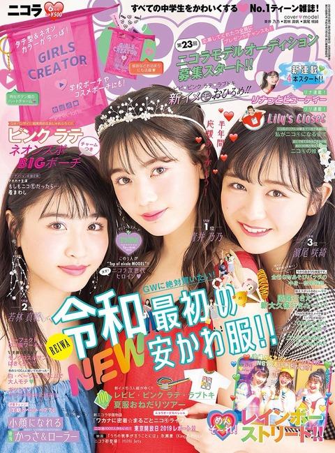 nicola(ニコラ) 2019年 6月号 表紙