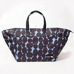 レジかご型ショッピングバッグにもなる大容量保冷バッグ