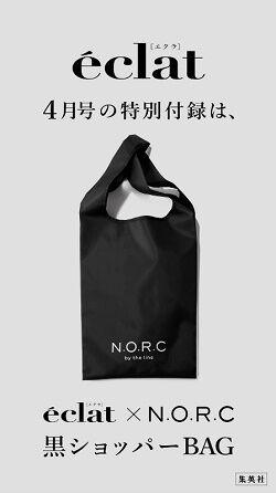 N.O.R.C 黒ショッパーBAG