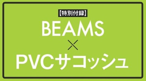 BEAMS PVCサコッシュ