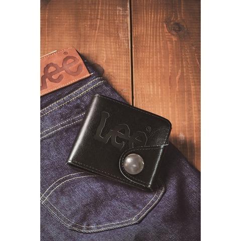 Lee(リー) コンチョ付き本革二つ折り財布